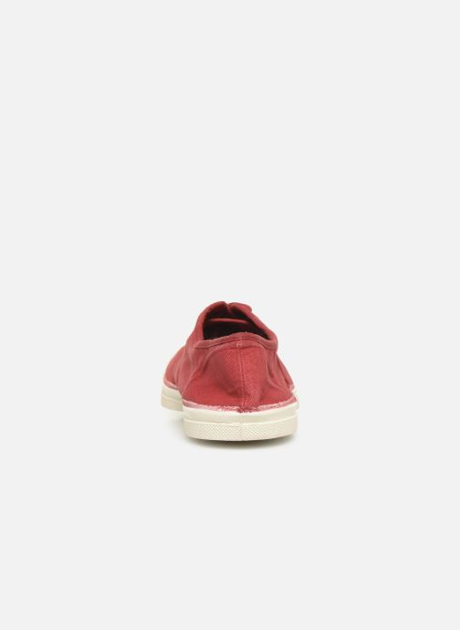 Sneakers Bensimon Tennis Lacets Bordeaux rechts