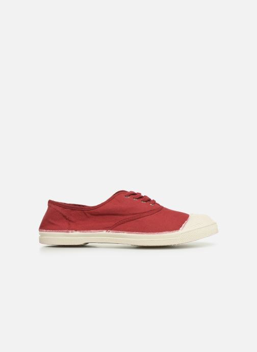 Sneakers Bensimon Tennis Lacets Bordeaux achterkant