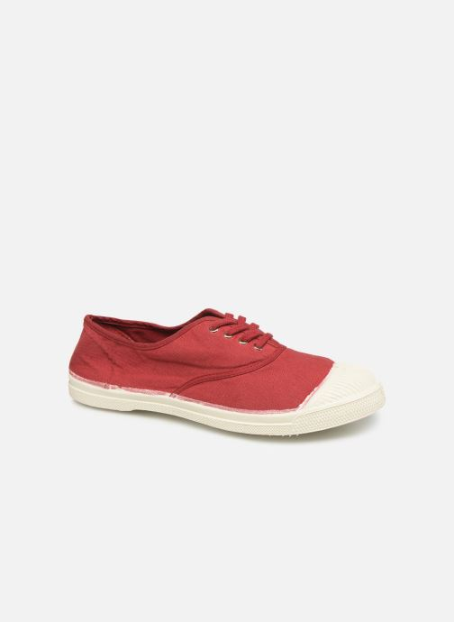 Sneakers Bensimon Tennis Lacets Bordeaux detail