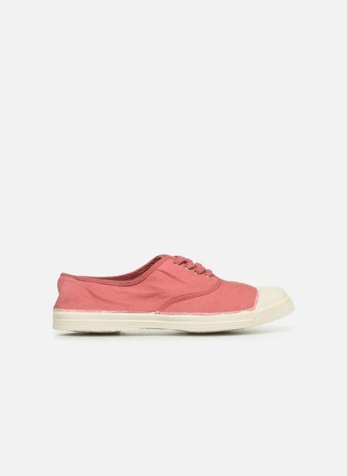 Sneaker Bensimon Tennis Lacets rosa ansicht von hinten