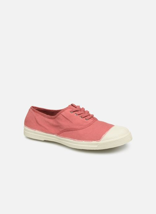 Trainers Bensimon Tennis Lacets Pink detailed view/ Pair view