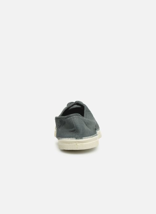 Trainers Bensimon Tennis Lacets Grey view from the right