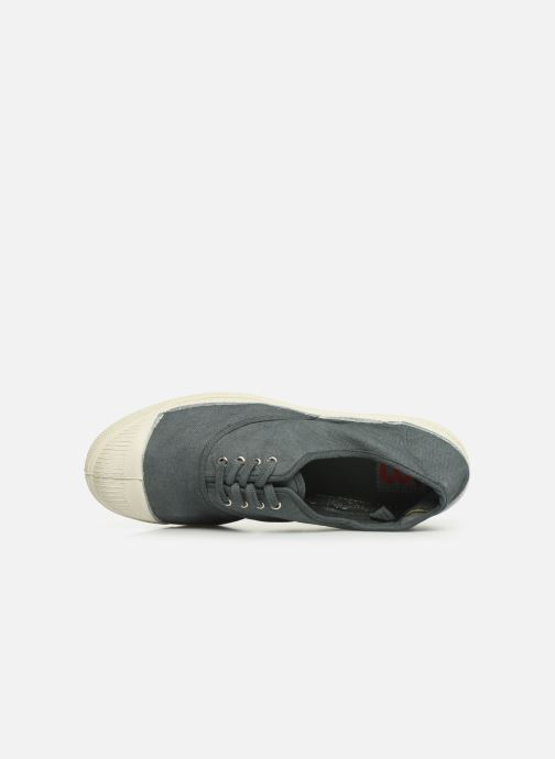 Trainers Bensimon Tennis Lacets Grey view from the left