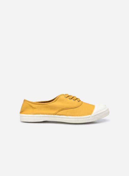 Sneaker Bensimon Tennis Lacets gelb ansicht von hinten