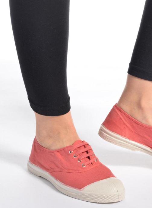 Sneakers Bensimon Tennis Lacets Geel onder