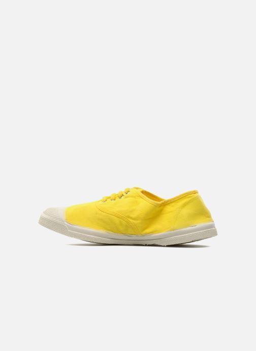Sneakers Bensimon Tennis Lacets Geel voorkant