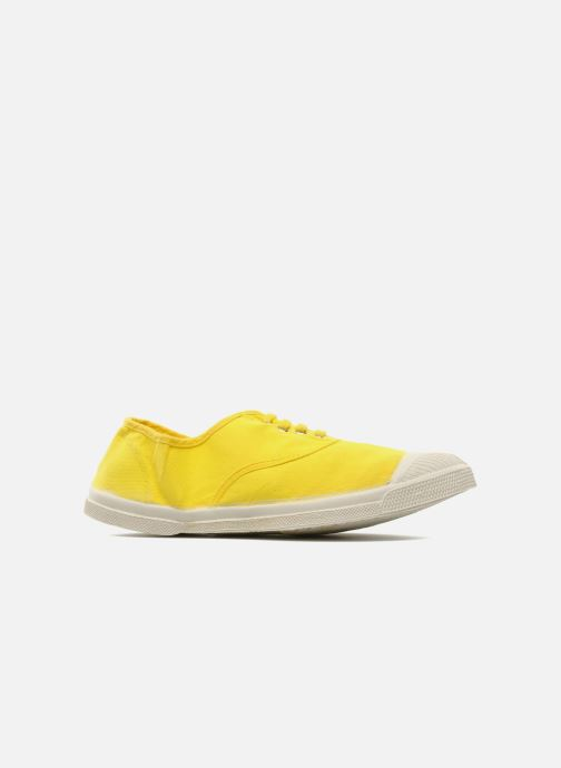 Trainers Bensimon Tennis Lacets Yellow back view