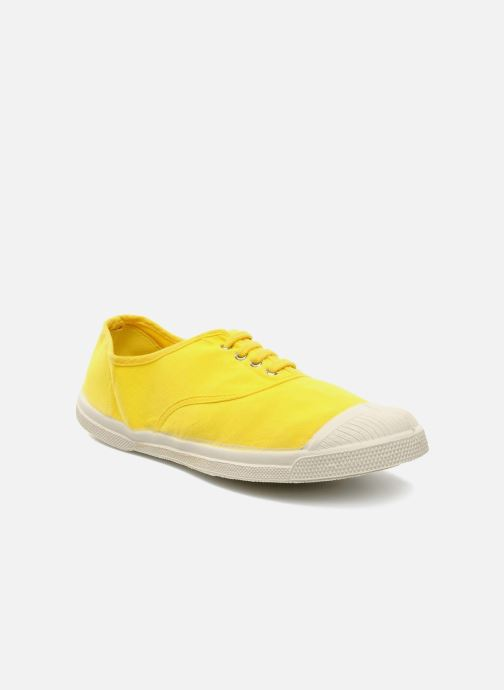 Sneakers Bensimon Tennis Lacets Geel detail