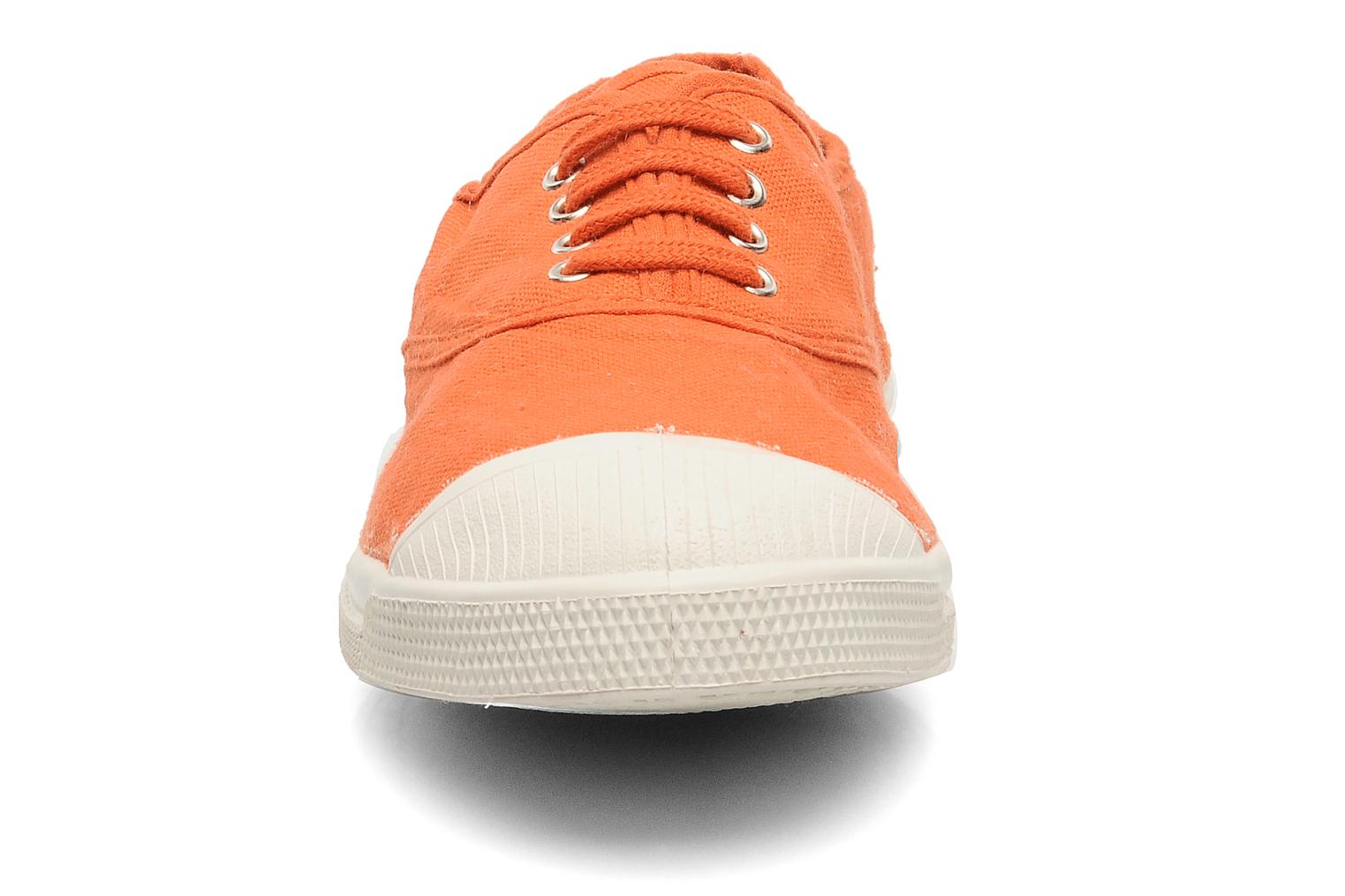 Trainers Bensimon Tennis Lacets Orange model view
