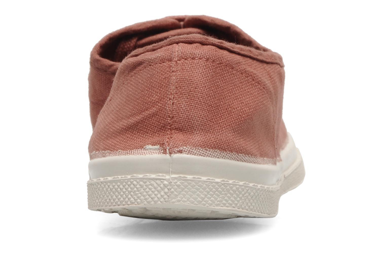 Sneakers Bensimon Tennis Lacets Pink Se fra højre