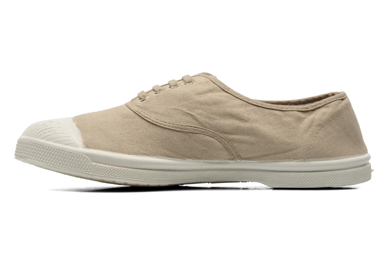Sneakers Bensimon Tennis Lacets Beige se forfra
