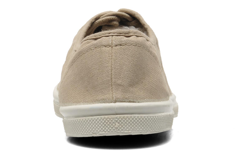 Sneakers Bensimon Tennis Lacets Beige Se fra højre