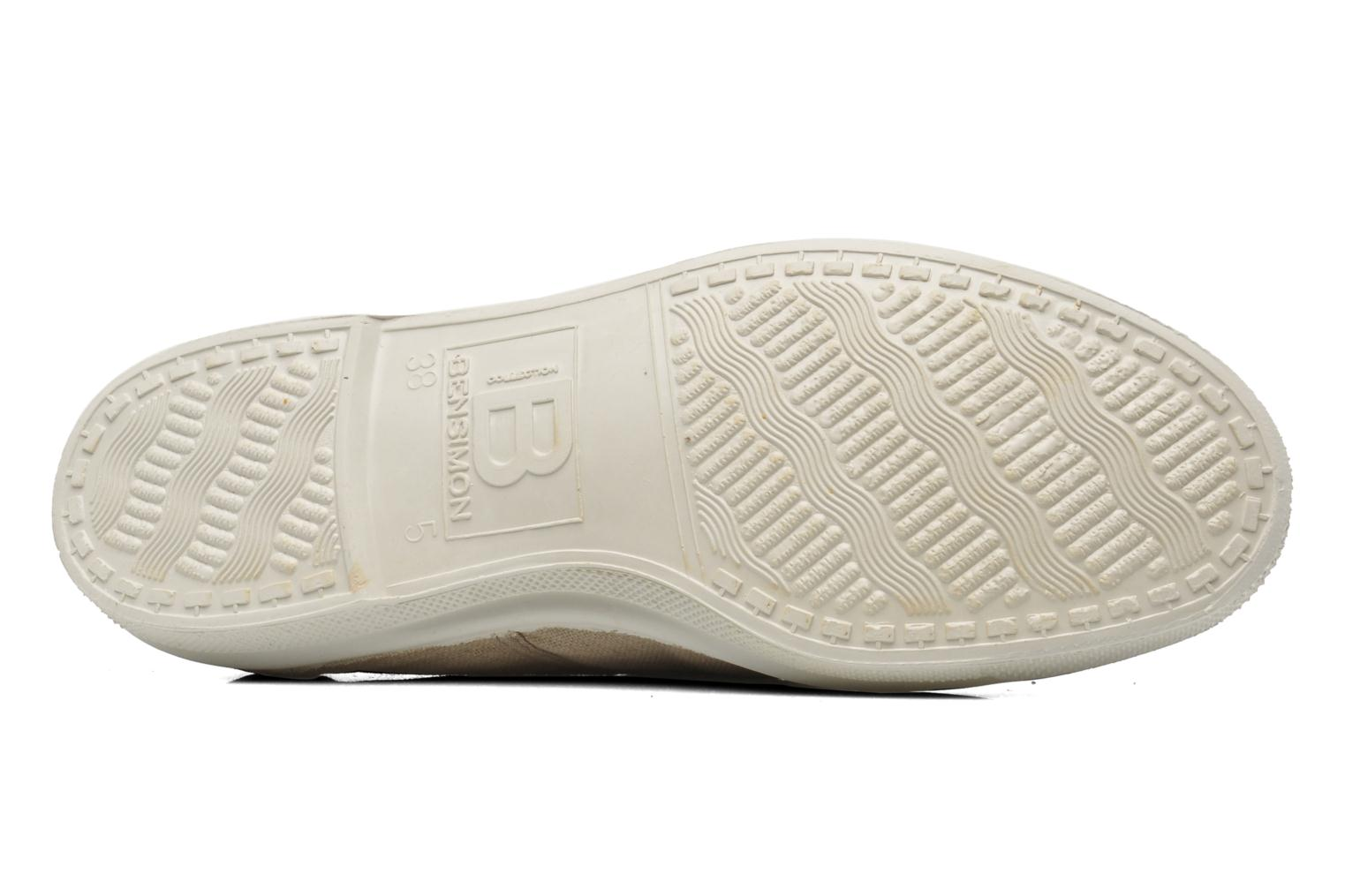 Sneakers Bensimon Tennis Lacets Beige se foroven