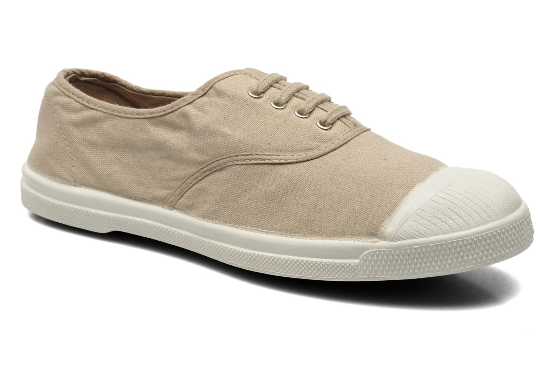 Sneakers Bensimon Tennis Lacets Beige detaljeret billede af skoene