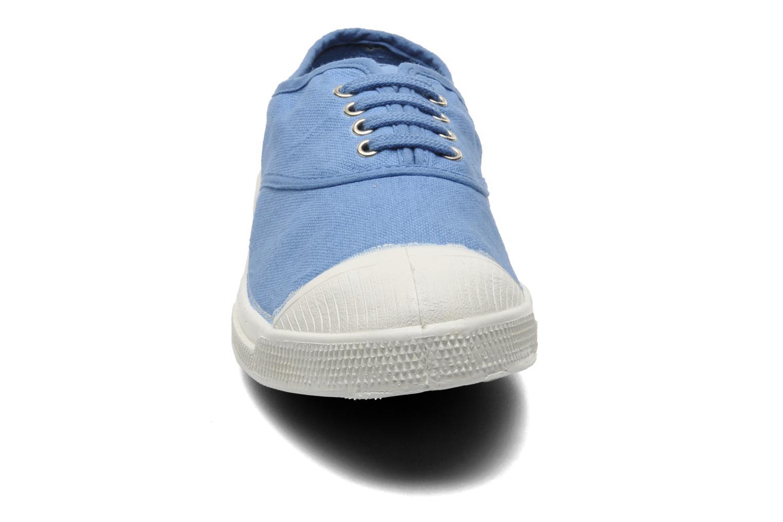 Deportivas Bensimon Tennis Lacets Azul vista del modelo