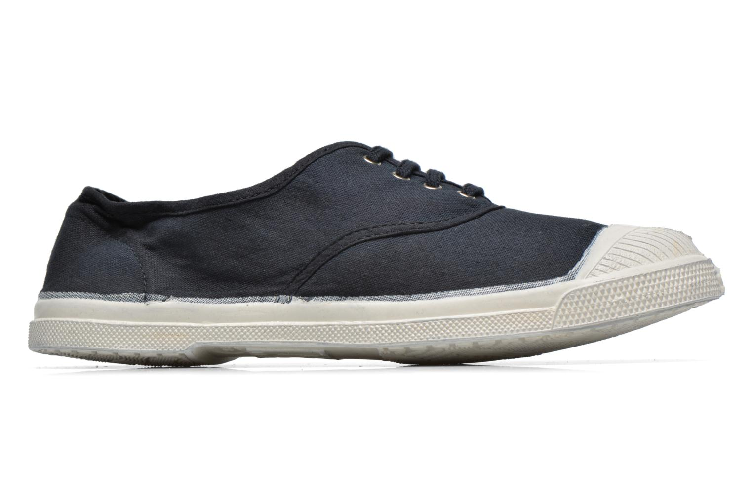 Trainers Bensimon Tennis Lacets Black back view