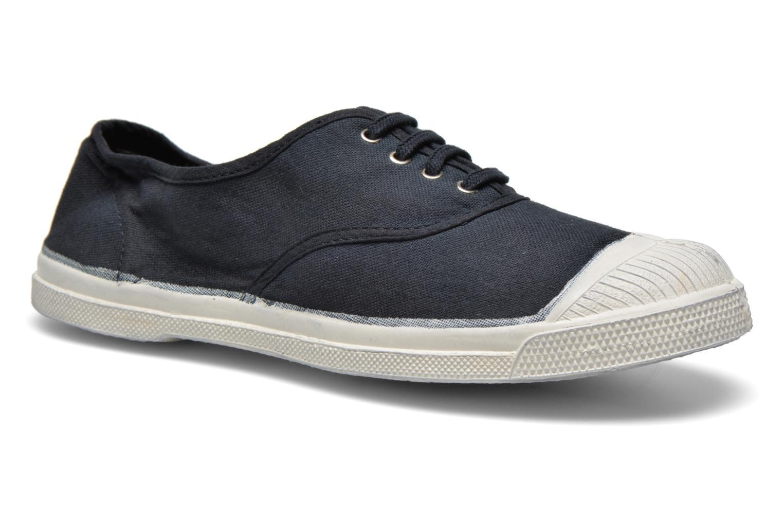 Bensimon Tennis Lacets W (Noir) - Baskets en Más cómodo Chaussures femme pas cher homme et femme