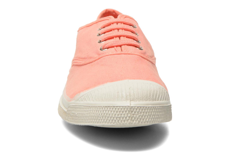 Baskets Bensimon Tennis Lacets W Orange vue portées chaussures