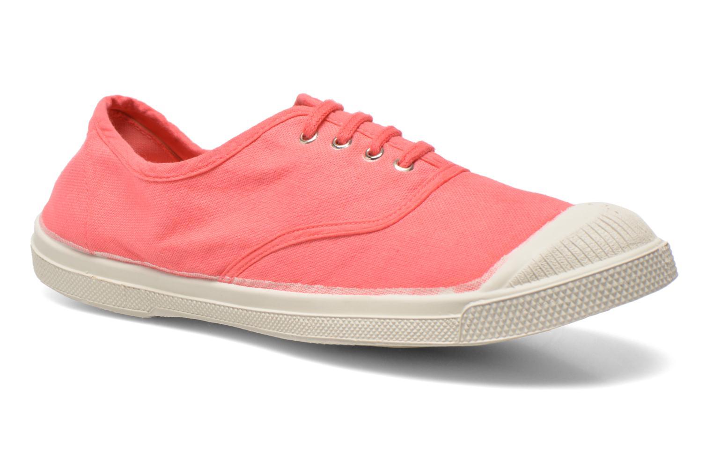 Bensimon Tennis Lacets W (Rose) - Baskets en Más cómodo Chaussures casual sauvages