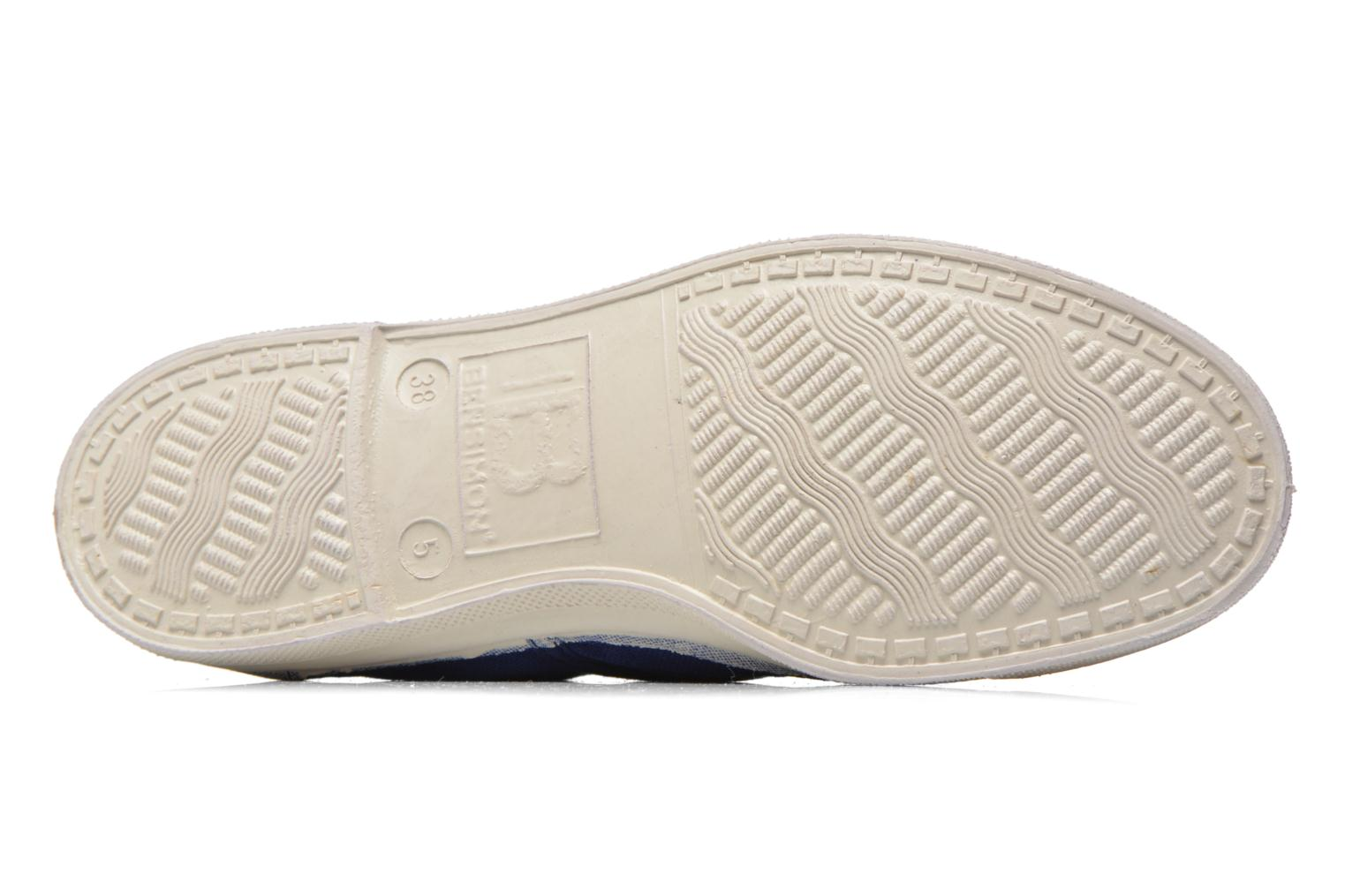 Trainers Bensimon Tennis Lacets Blue view from above