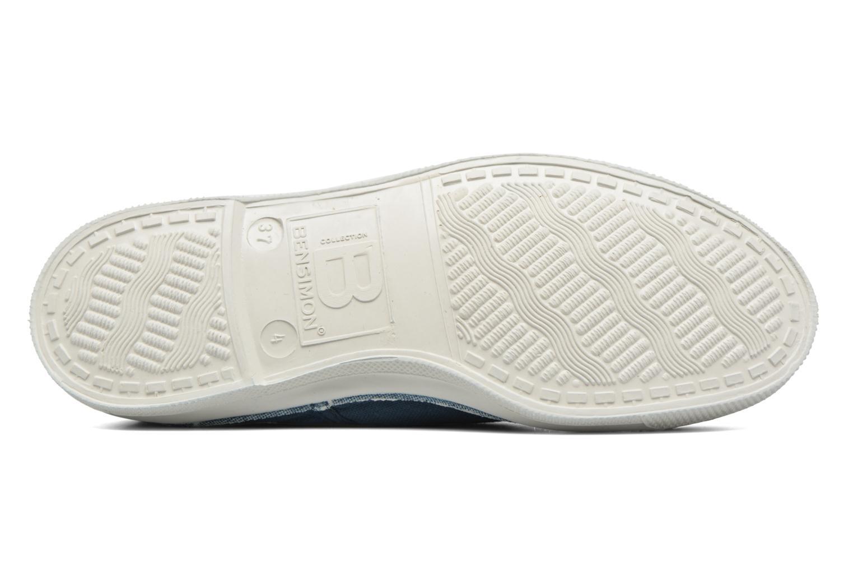 Sneakers Bensimon Tennis Lacets Azzurro immagine dall'alto