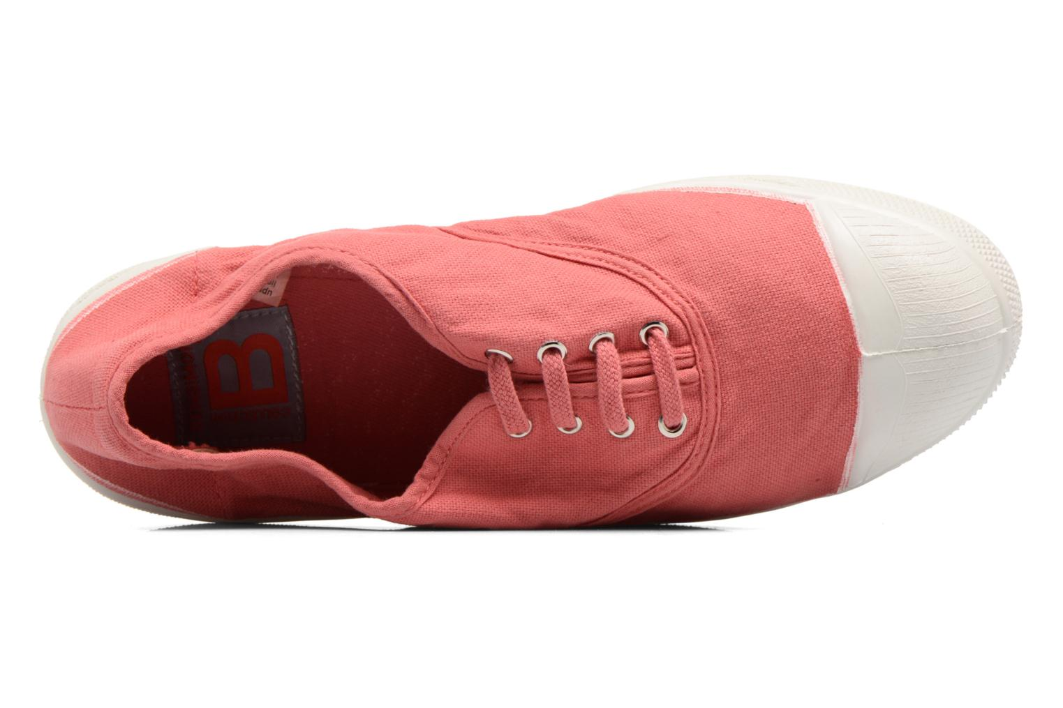 Sneaker Bensimon Tennis Lacets rosa ansicht von links
