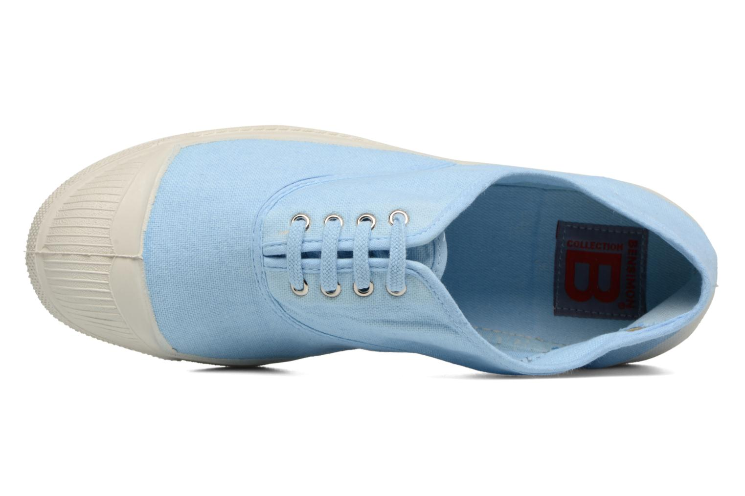 Sneaker Bensimon Tennis Lacets blau ansicht von links
