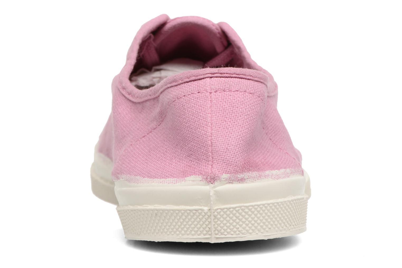 Sneakers Bensimon Tennis Lacets Paars rechts