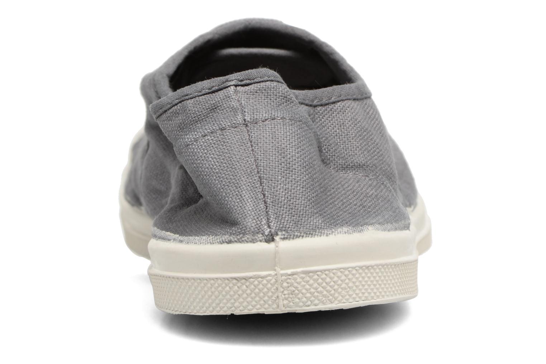 Sneakers Bensimon Tennis Lacets Grijs rechts