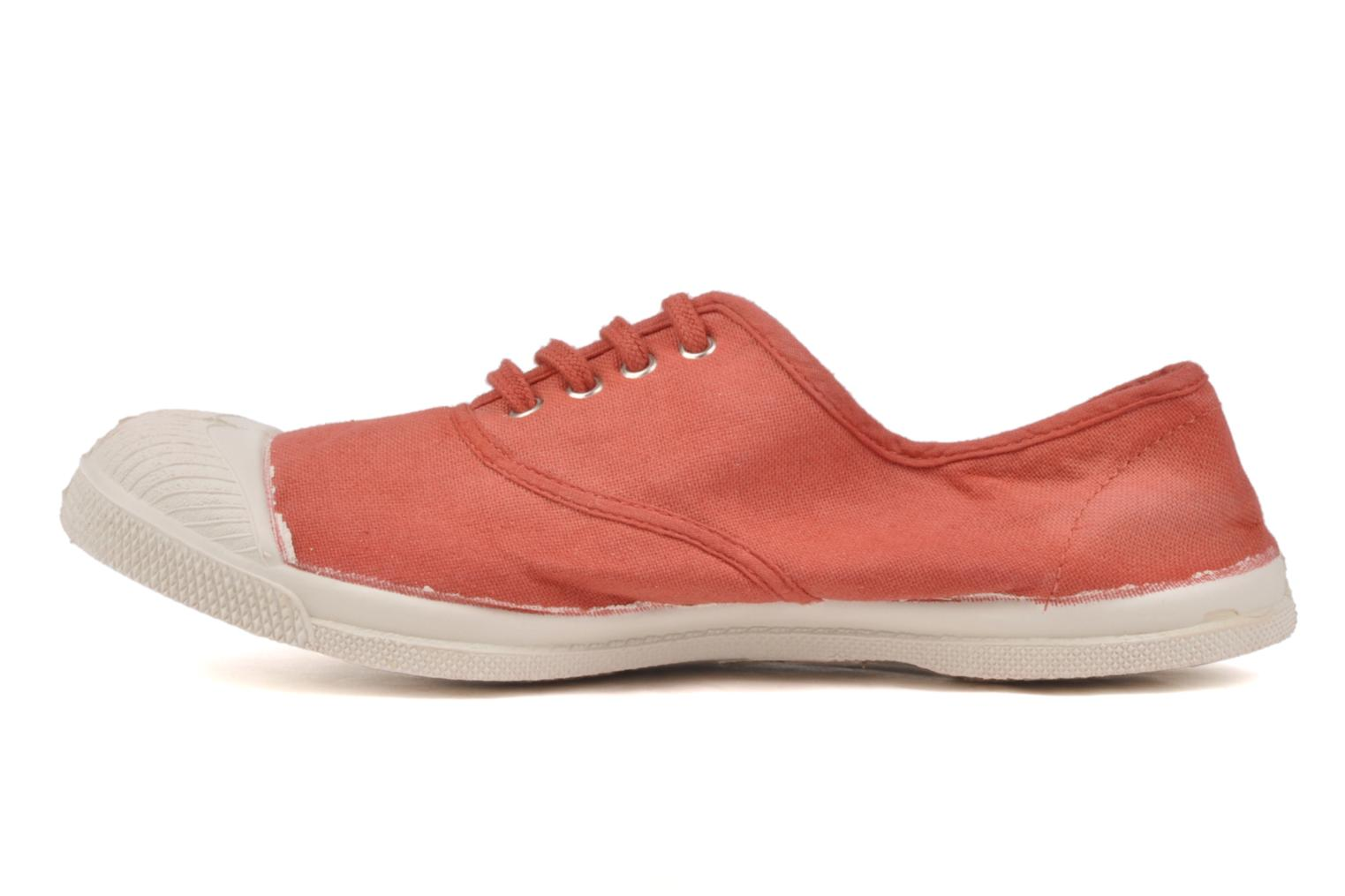 Sneakers Bensimon Tennis Lacets Orange se forfra