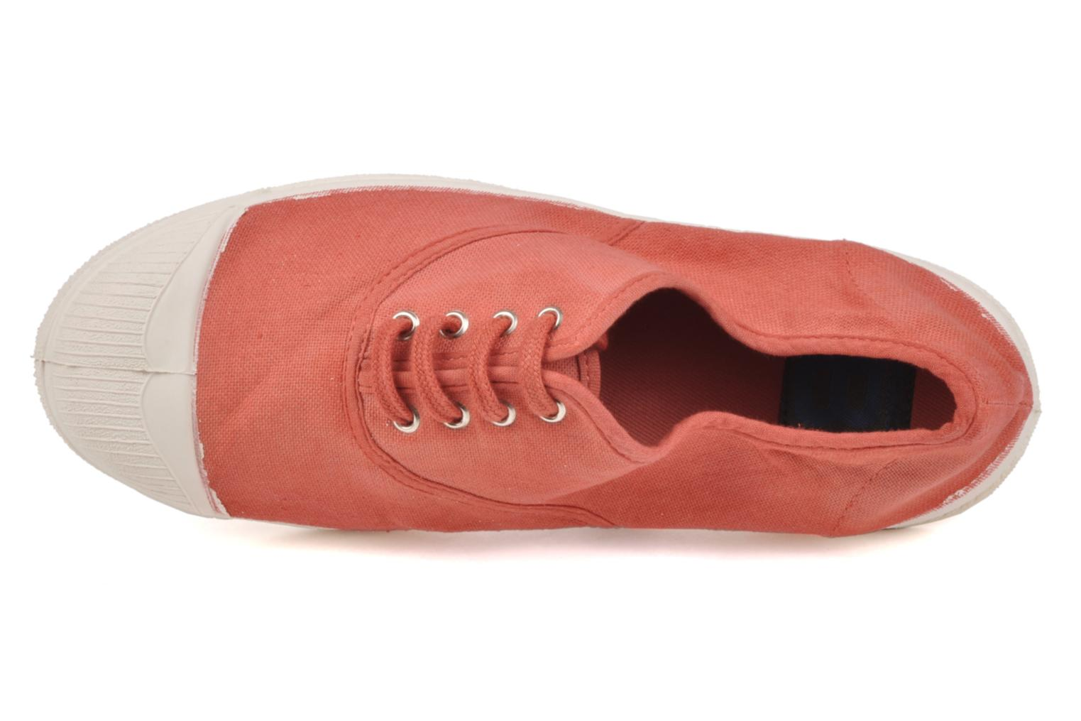 Sneakers Bensimon Tennis Lacets Orange se fra venstre