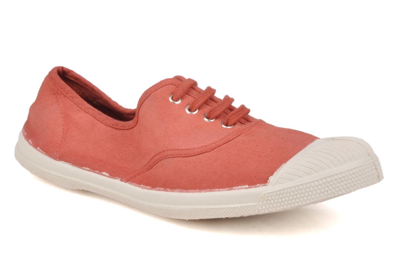 Sneakers Bensimon Tennis Lacets Oranje detail