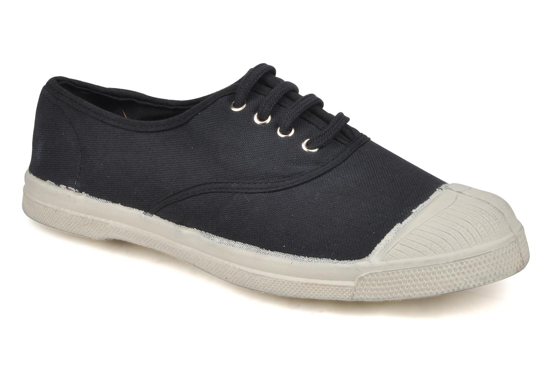 Bensimon Tennis Lacets W (Noir) - Baskets en Más cómodo Chaussures casual sauvages