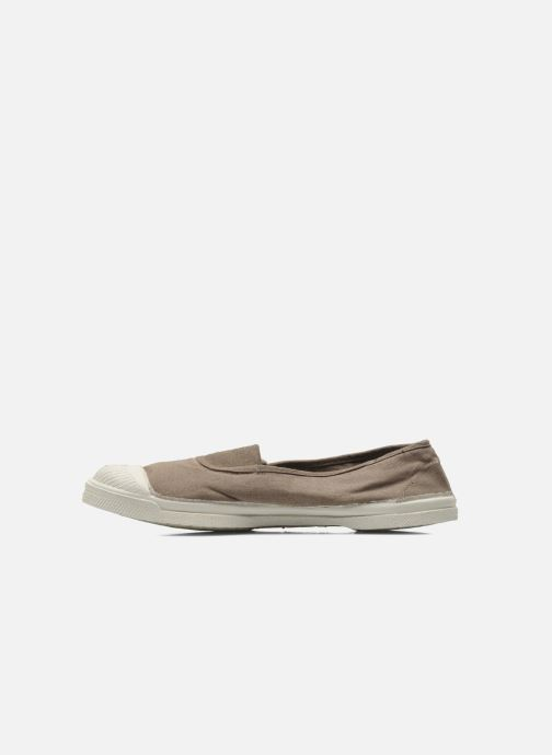 Ballerines Bensimon Tennis Elastique Gris vue face