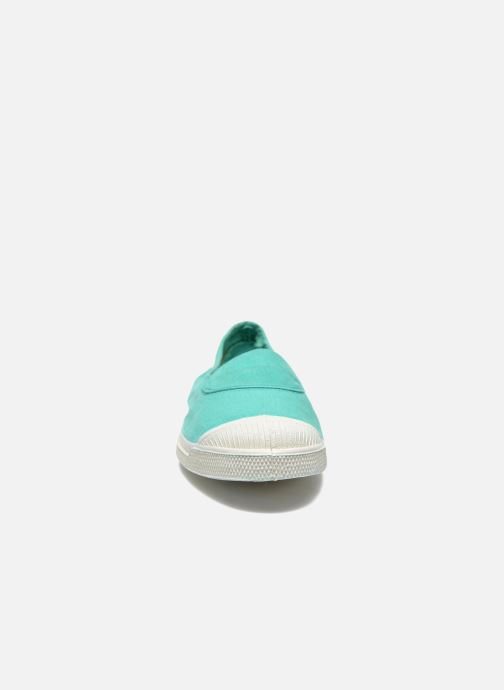 Ballerines Bensimon Tennis Elastique Vert vue portées chaussures