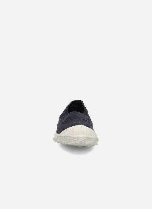 Ballet pumps Bensimon Tennis Elastique Blue model view