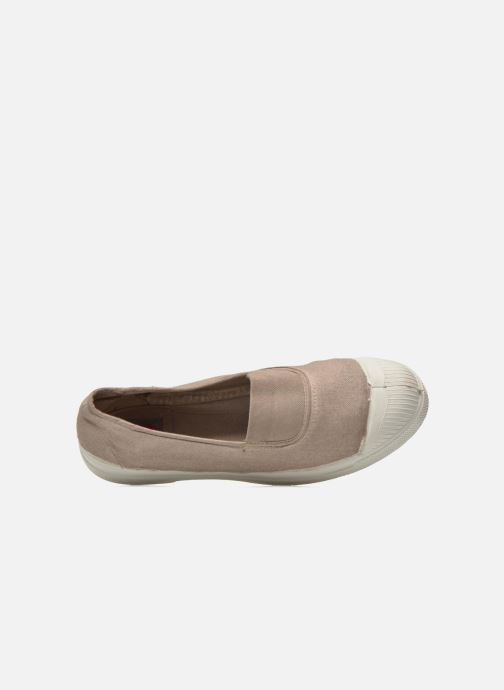Ballerina's Bensimon Tennis Elastique Beige links