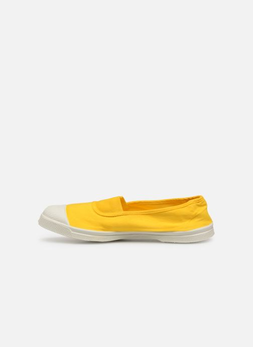 Ballerines Bensimon Tennis Elastique Jaune vue face