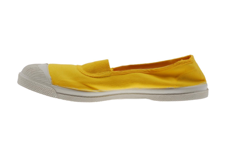 Ballerina's Bensimon Tennis Elastique Geel voorkant