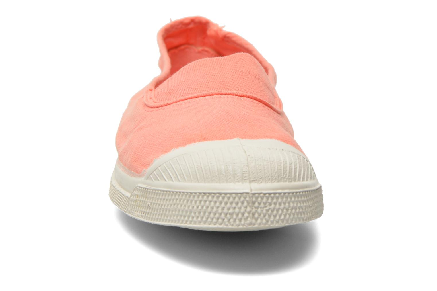 Ballet pumps Bensimon Tennis Elastique Orange model view