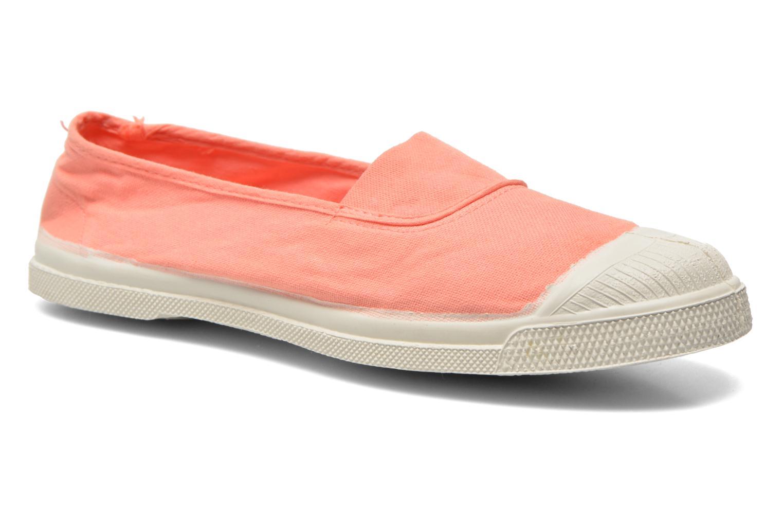 Bensimon Tennis Elastique (Orange) - Ballerines en Más cómodo Chaussures femme pas cher homme et femme