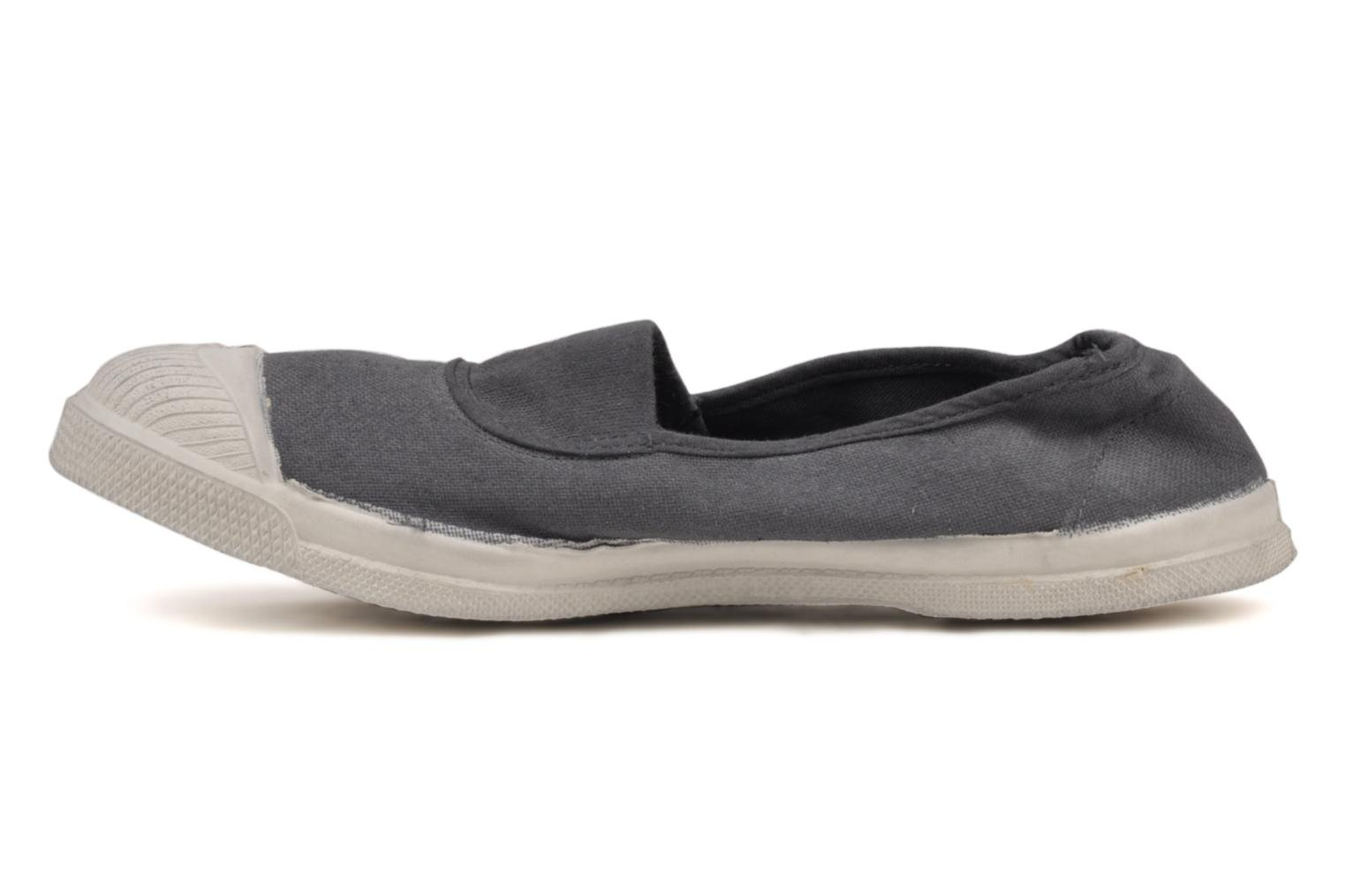 Ballet pumps Bensimon Tennis Elastique Grey front view