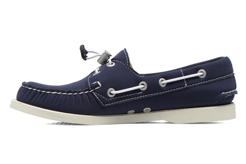 Chaussures à lacets Sebago Docksides W Bleu vue face