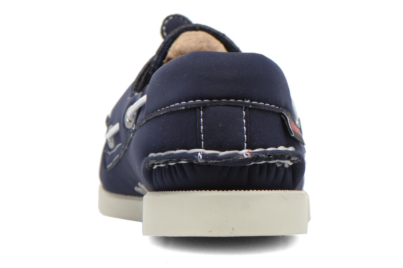 Chaussures à lacets Sebago Docksides W Bleu vue droite