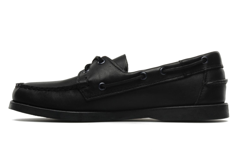 Chaussures à lacets Sebago Docksides M Noir vue face
