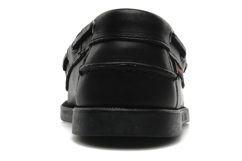 Chaussures à lacets Sebago Docksides M Noir vue droite