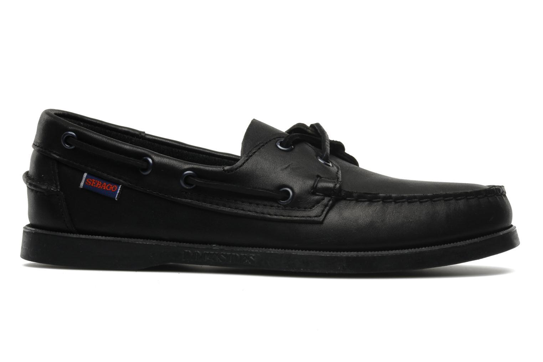 Chaussures à lacets Sebago Docksides M Noir vue derrière