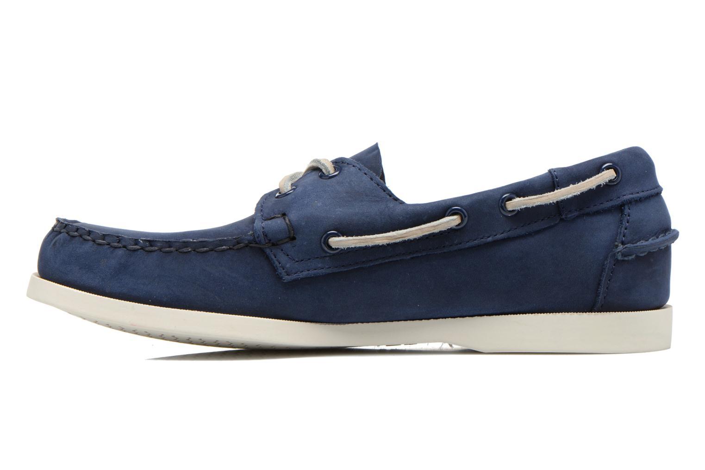 Zapatos con cordones Sebago Docksides M Azul vista de frente