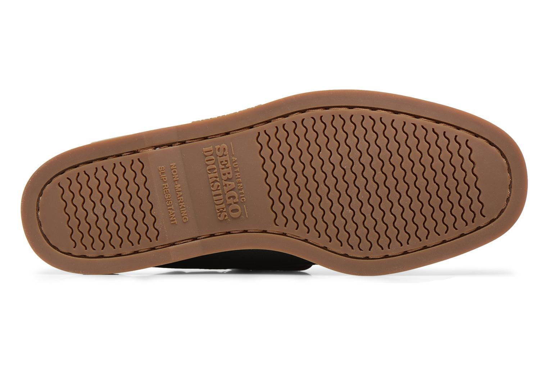 Snörade skor Sebago Docksides M Grön bild från ovan