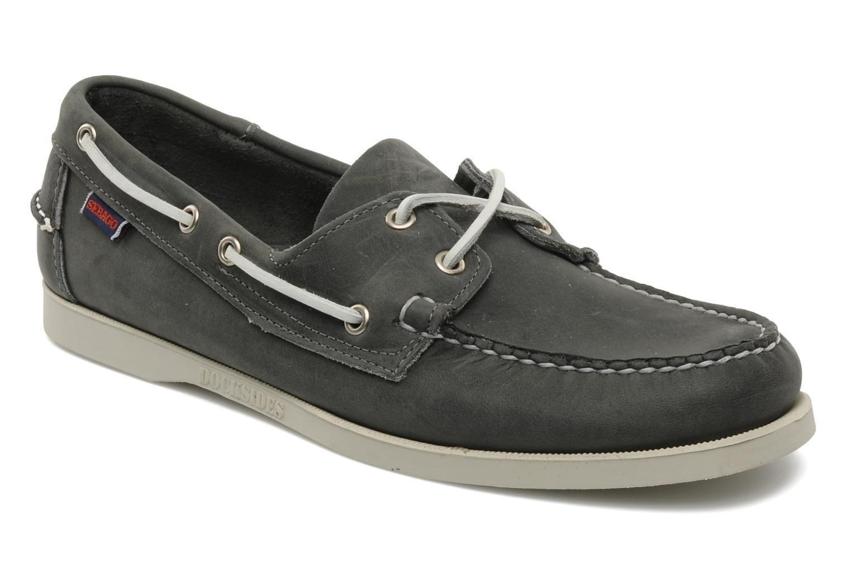 Schnürschuhe Sebago Docksides M grau detaillierte ansicht/modell